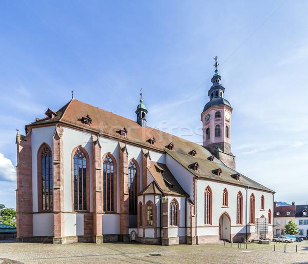Stiftskirche Church Baden-Baden Stock photo © meinzahn