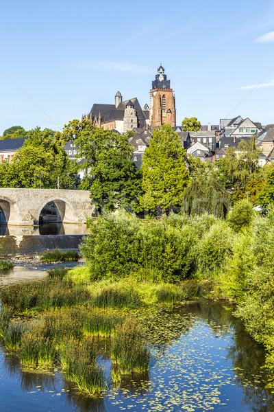 старые моста мнение купол известный воды Сток-фото © meinzahn