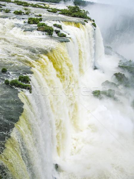 bridge over the River Iguacu in Brazil Stock photo © meinzahn