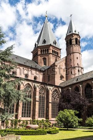 Mainzer Dom cathedral in Mainz  Stock photo © meinzahn