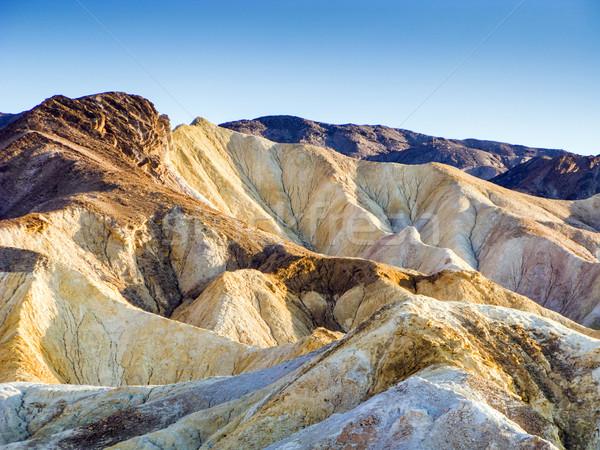 Punkt śmierci dolinie piasku rock wakacje Zdjęcia stock © meinzahn