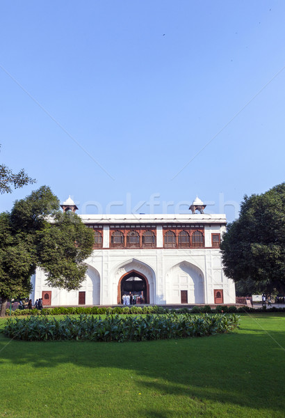 Red Fort in Delhi Stock photo © meinzahn