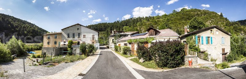 small village of Beaujeu in the Provence Alpes Code d Azur  Stock photo © meinzahn