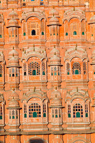 Hawa Mahal, the Palace of Winds, Jaipur, Rajasthan, India.  Stock photo © meinzahn