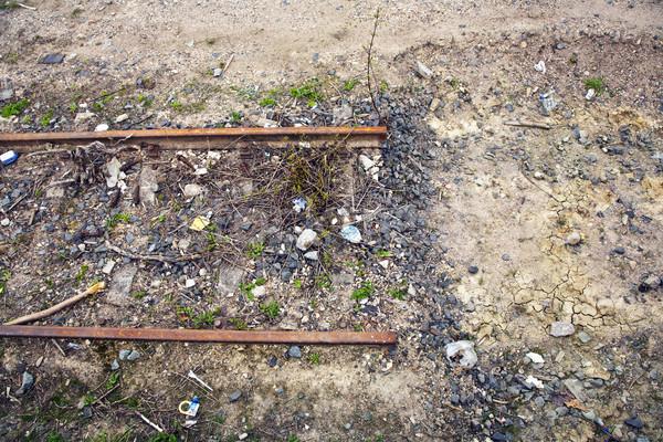 ending rusty rails Stock photo © meinzahn