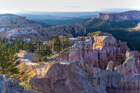 walking path in beautiful landscape in Bryce Canyon  Stock photo © meinzahn