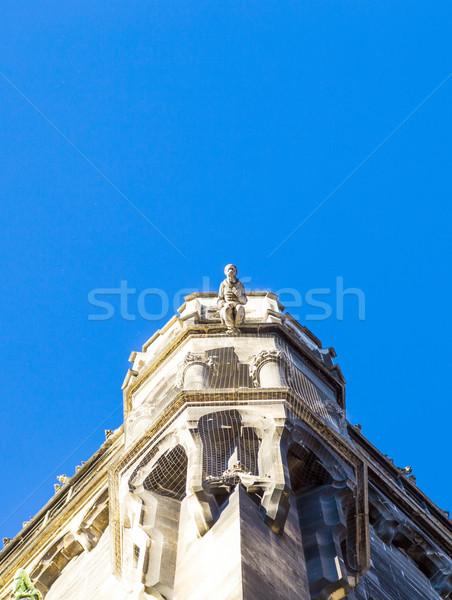ратуша Мюнхен искусства Церкви голову Готский Сток-фото © meinzahn
