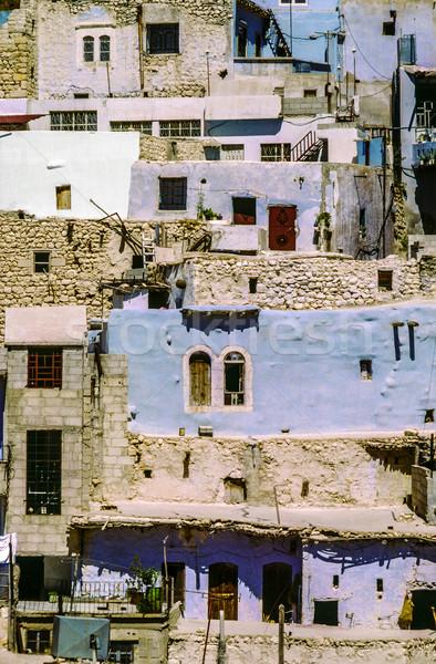 Maloula or Maalula, christian village in the Rif Dimash, Syria Stock photo © meinzahn