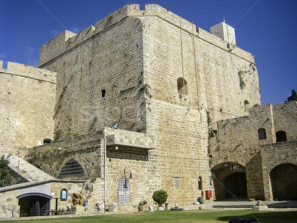 Vecchio fortezza muri muro Foto d'archivio © meinzahn