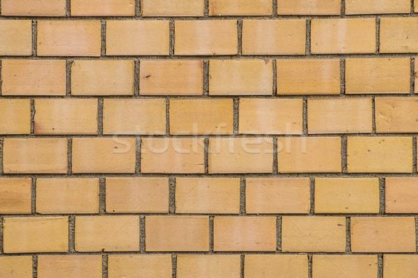 Patroon oude oranje muur harmonisch structuur Stockfoto © meinzahn