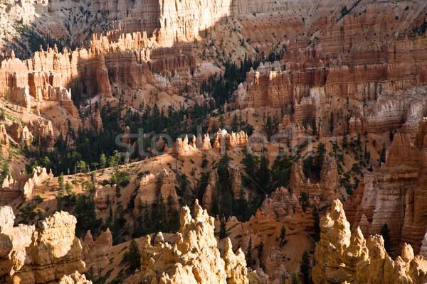 Piękna krajobraz kanion wspaniały kamień formacja Zdjęcia stock © meinzahn