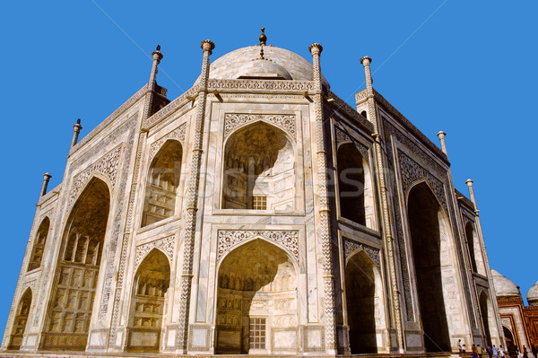 beautiful Taj Mahal, worlds most beautiful building Stock photo © meinzahn