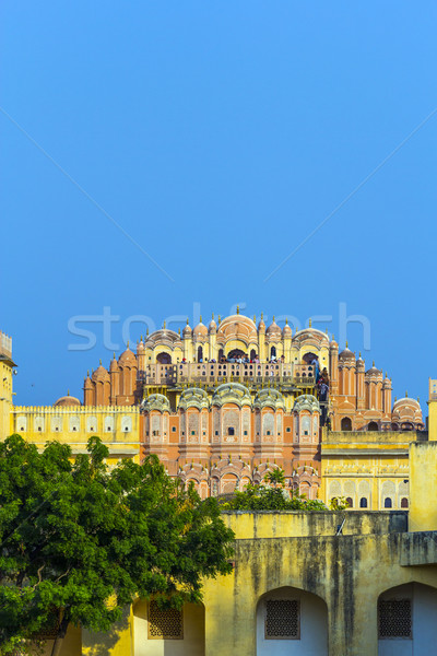 Hawa Mahal in late afternoon light Stock photo © meinzahn