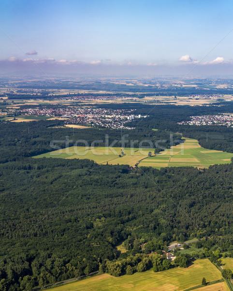aerial of Rhein-Main area in Hesse  Stock photo © meinzahn