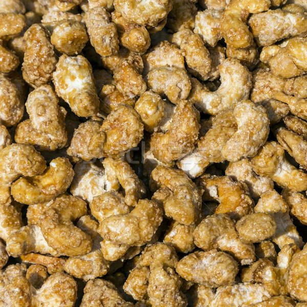 caramelized almond  Stock photo © meinzahn