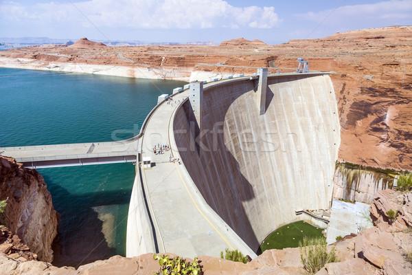 Glen Canyon Dam, near Page Arizona Stock photo © meinzahn