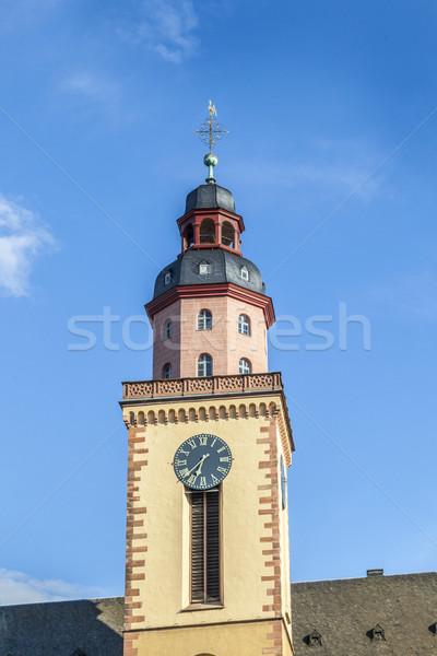 St. Catherine Church is the largest Lutheran church in Frankfurt Stock photo © meinzahn