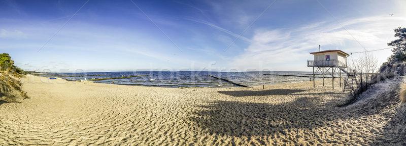 Praia mar báltico belo água paisagem mar Foto stock © meinzahn