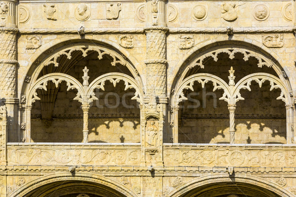 Monastery of Jeronimos Stock photo © meinzahn