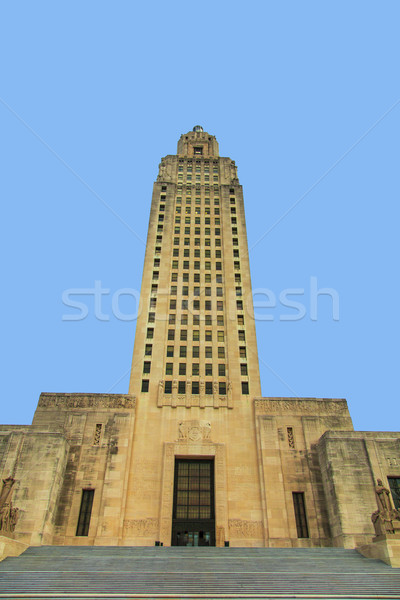 Baton Rouge, Louisiana - State Capitol Stock photo © meinzahn