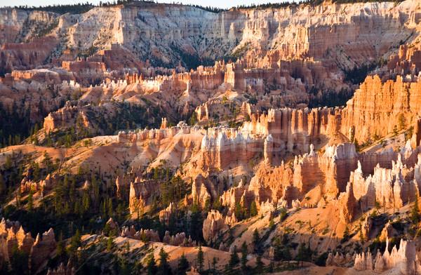 Egyedi színes kő kanyon park Utah Stock fotó © meinzahn