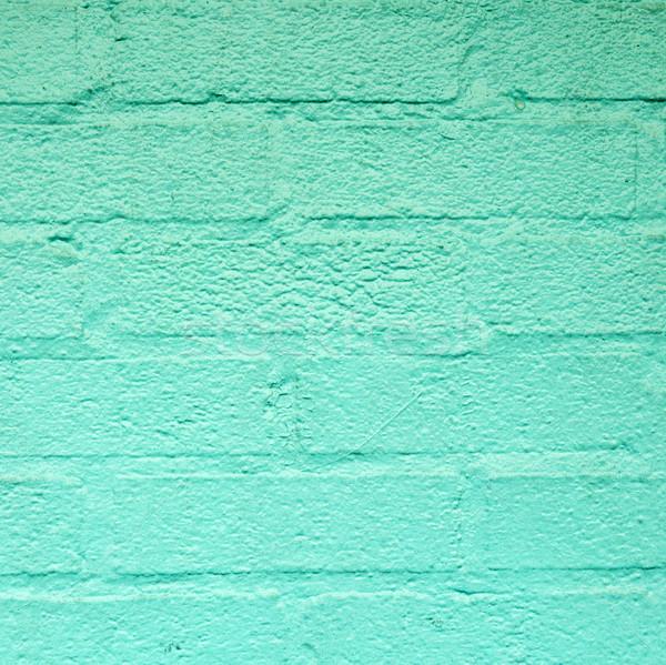 Groene harmonisch muur amerika huis muur Stockfoto © meinzahn