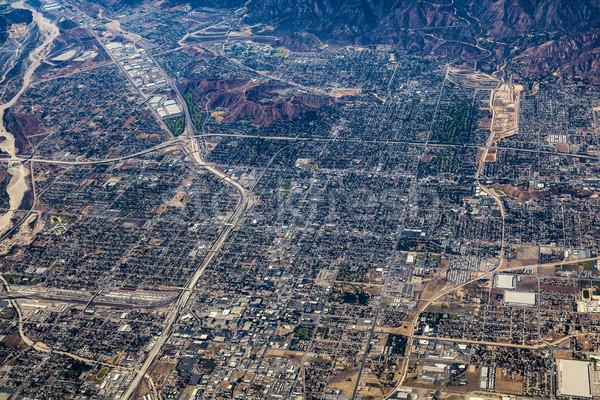 Los Angeles edifício viajar cityscape estilo de vida Foto stock © meinzahn