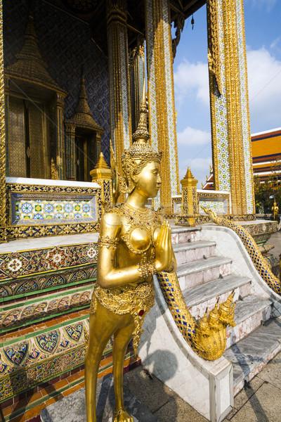 Mythologie cijfer kijken tempel beroemd paleis Stockfoto © meinzahn