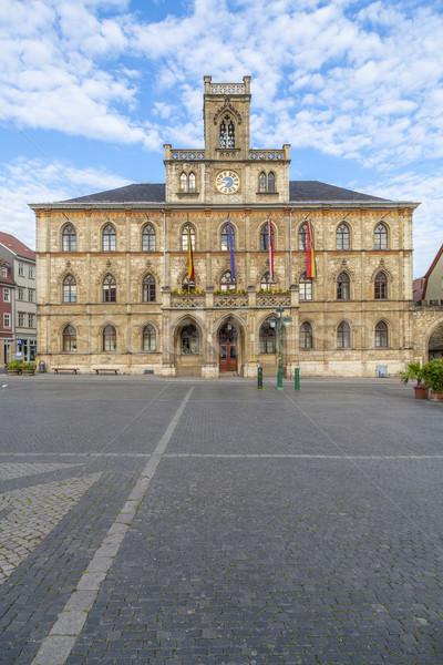 Stock fotó: Városháza · Németország · unesco · világ · örökség · helyszín