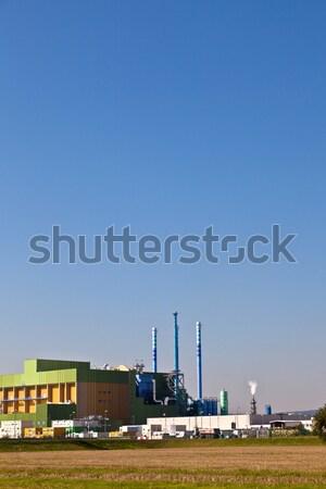 factory at the atlantic ocean in Portland Stock photo © meinzahn