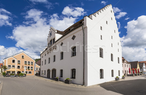famous old buildings in Beilngries Stock photo © meinzahn