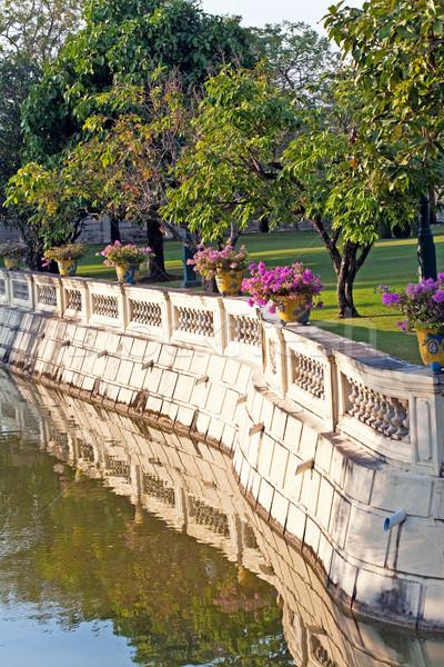 Pont bang douleur palais divine siège Photo stock © meinzahn