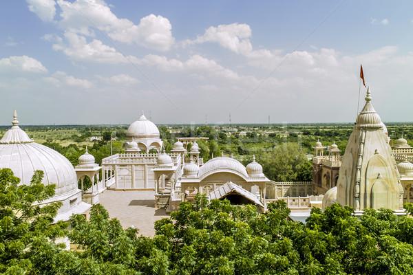 Indië ontwerp kerk aanbidden architectuur god Stockfoto © meinzahn