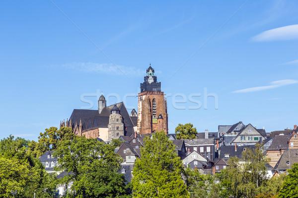 View cupola noto città vecchia blu viaggio Foto d'archivio © meinzahn