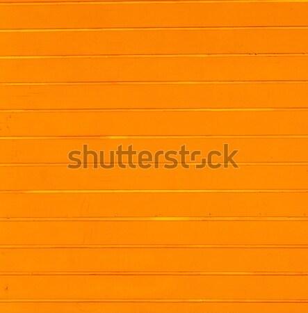 Arancione spiaggia legno texture muro desk Foto d'archivio © meinzahn