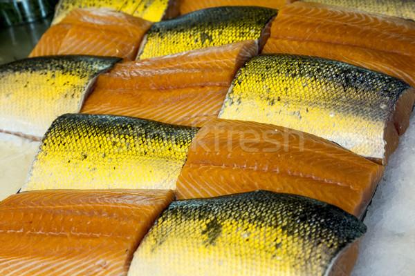 Tonno ghiaccio locale pesce mercato Foto d'archivio © meinzahn
