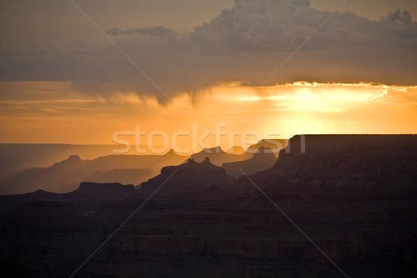 Stok fotoğraf: Güzel · gün · batımı · çöl · görmek · nokta · muhteşem