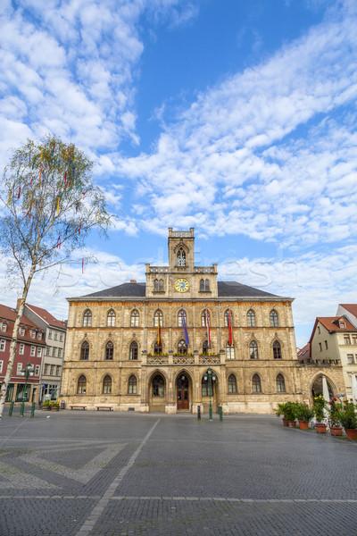 Stadhuis Duitsland unesco wereld erfgoed plaats Stockfoto © meinzahn