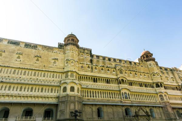 форт город Индия здании индийской Азии Сток-фото © meinzahn