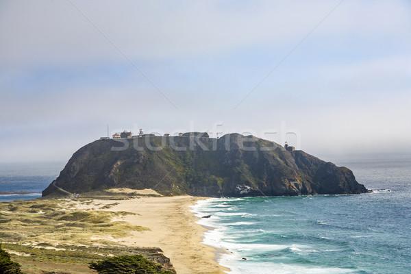 coast at Point Sur Light Station Stock photo © meinzahn
