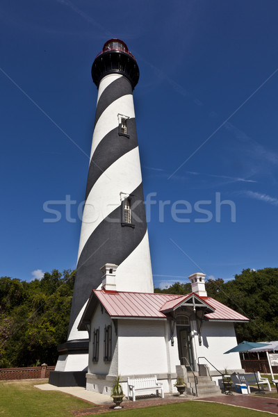 beautiful lighthouse from Sankt Augustine Stock photo © meinzahn