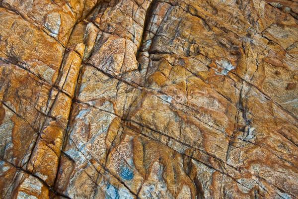美しい 行 石 印象 自然 背景 ストックフォト © meinzahn