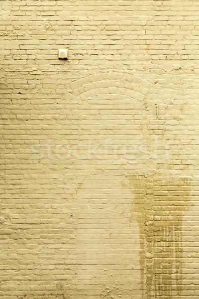 Up mur étroite entrée vieux porte Photo stock © meinzahn