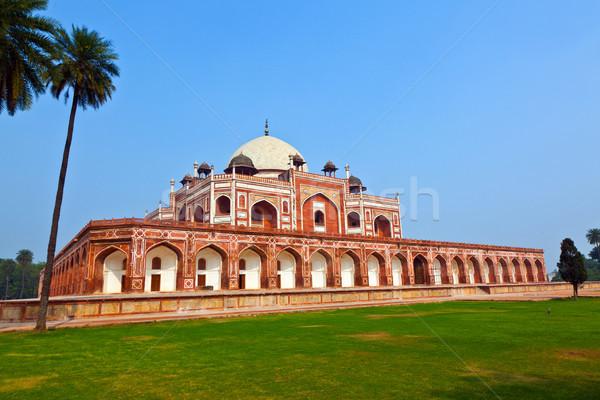 Tumba Delhi India anuncio ejemplo influir Foto stock © meinzahn