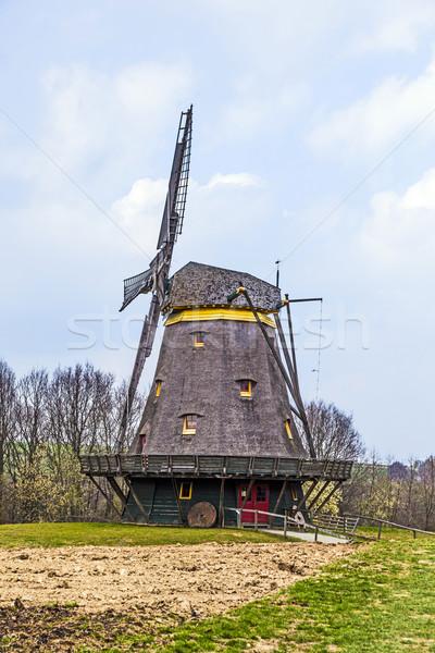 old windmill in the Hessenpark Stock photo © meinzahn