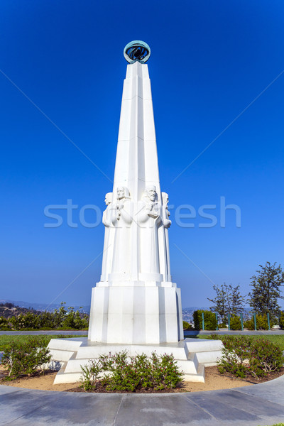 Astronomers monument at the Griffith Observatory in Los Angeles, Stock photo © meinzahn