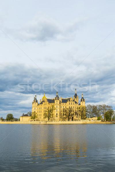 известный замок Германия ярко свет природы Сток-фото © meinzahn