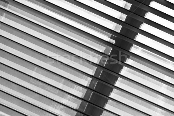 shutter blind of a window in sunshine  Stock photo © meinzahn