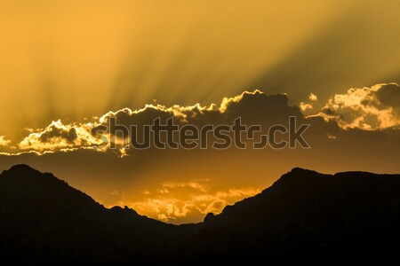 spectacular sunset at Grand canyon in Arizona Stock photo © meinzahn