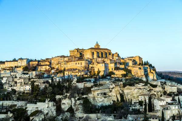 Gordes, Provence, France Stock photo © meinzahn